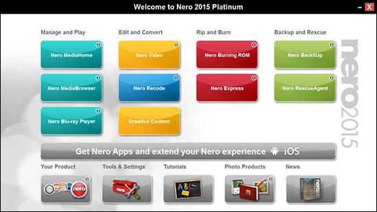 Nero 2015 est en approche… Il intègrera encore de nouvelles fonctions multimédias