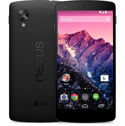 Officiel : le Nexus 5 est disponible sur le Play Store à partir de 349 euros