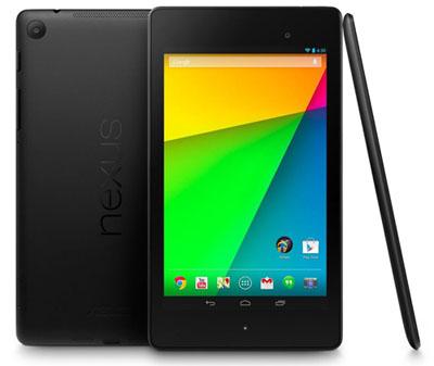 Google dévoile officiellement l'édition 2013 de la Nexus 7