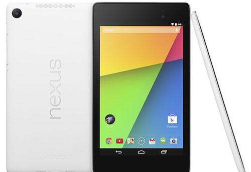 La tablette Nexus 7 de Google se pare d'une robe blanche
