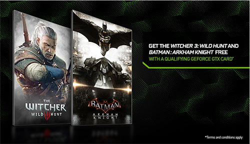 NVIDIA fait plaisir aux joueurs et offre deux jeux avec ses dernières cartes graphiques