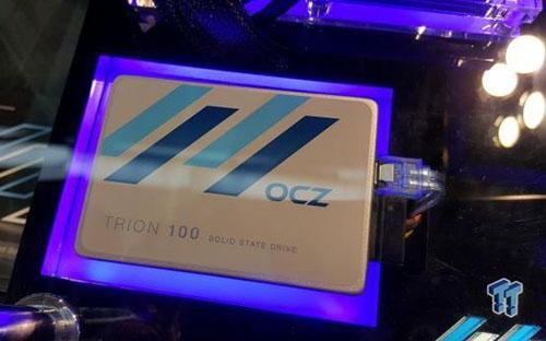 OCZ prépare un SSD d'entrée de gamme pour cet été : le Trion 100 (Maj : photo)