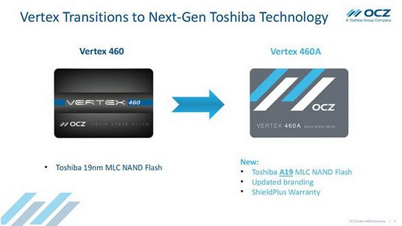 Le Vertex 460 s'offre une nouvelle jeunesse et devient le Vertex 460A (MAJ)