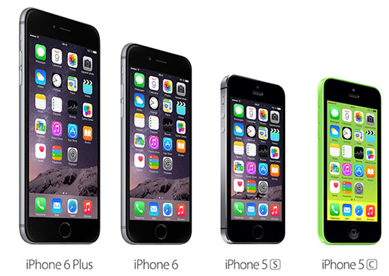 Apple dévoile l'iPhone 6, l'iPhone 6 Plus et la Watch
