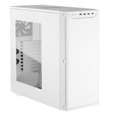 Ginjfo décortique le boitier Antec P280 blanc avec fenêtre