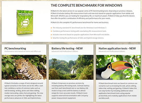PCMark8 est maintenant compatible avec Windows 8.1 et IE 11