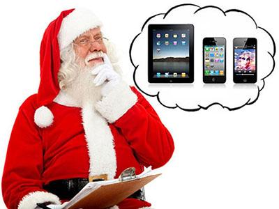 Un terminal sur deux activé à Noël était de marque Apple