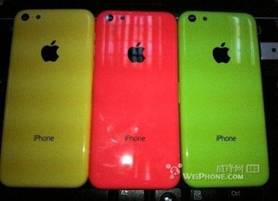 Rumeurs : ce serait les photos de l'iPhone low cost…