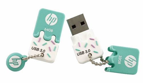 HP x778w : une clé USB 3.0 mimi et rikiki mais pas très rapide
