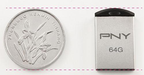 PNY sort une clé usb de 64 Go minuscule : la micro M2