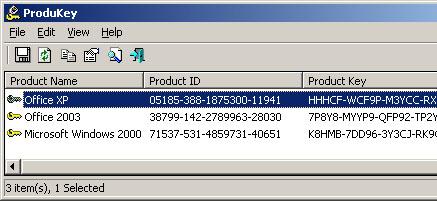 ProduKey 1.70 : pour récupérer facilement le serial de Windows 8 / 8.1