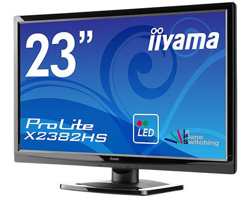 IIyama sort un moniteur 23 pouces IPS : le ProLite X2382HS
