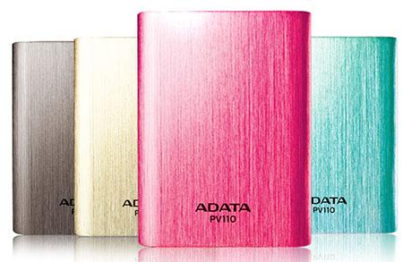 ADATA dévoile une nouvelle batterie Power Bank plus puissante : la PV110