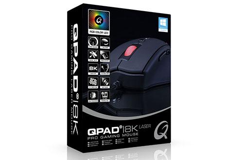 Une nouvelle souris gamer chez QPAD : la 8K Laser Pro Gaming