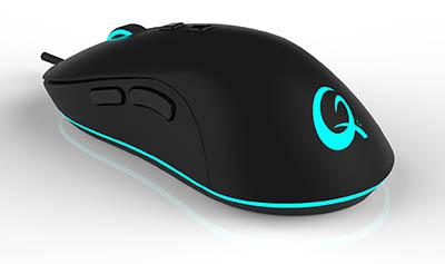 QPAD propose une souris ambidextre pour les gamers : la DX-20