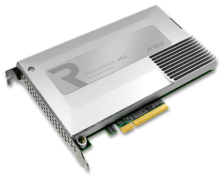 OCZ lance un nouveau SSD au format PCI Express : le RevoDrive 350