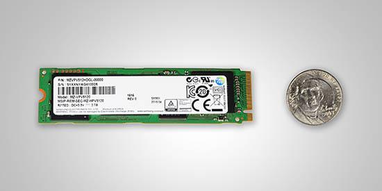 Un premier SSD NVMe très rapide : le Samsung SM951-NVMe