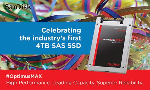 SanDisk Optimus Max : un SSD de 4 To pour les entreprises