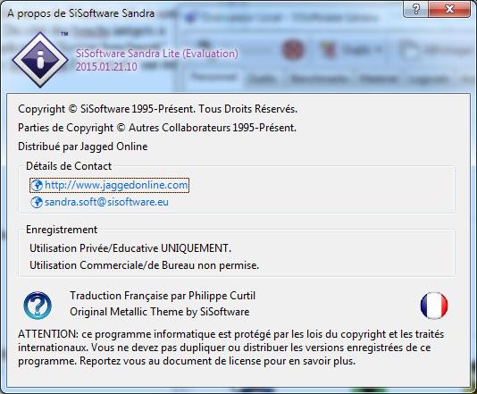 L'éditeur SiSoftware dévoile Sandra 2015