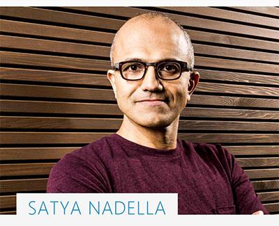 Satya Nadella est le nouveau PDG de Microsoft