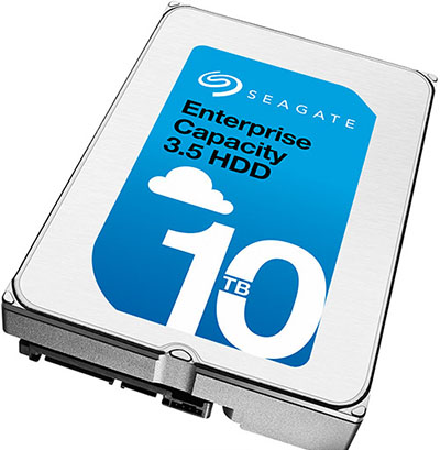 Un disque dur de 10 To utilisant de l'hélium chez Seagate (maj: livraisons en cours)