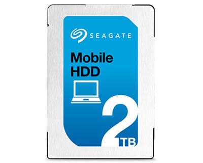 Mobile HDD : des disques durs internes de 2,5 pouces de 1 et 2 To chez Seagate