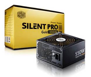 Cooler Master annonce l'alimentation Silent Pro Gold 550W