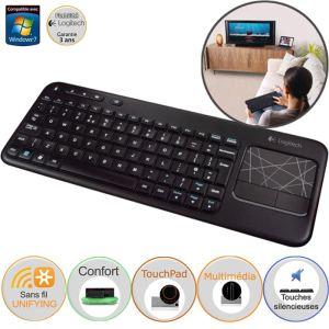 Soldes : le clavier Logitech pour HTPC soldé à 20 euros