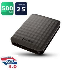 Soldes : 40 euros le disque dur USB 3.0 Samsung de 500 Go