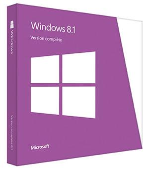 Soldes : la version boîte complète de Windows 8.1 à 77,99 euros livrée