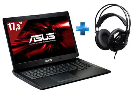 Soldes : un PC portable 17″ pour gamer Asus ROG G750JS-T4231H à 999 euros