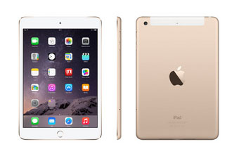 Soldes : la tablette Apple iPad Mini 3 de 16 Go (WIFI / 4G LTE) bradée à 399 euros