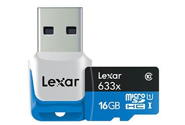 Soldes : une carte micro SDHC Lexar de 16 Go + un lecteur USB bradés à 8,99 euros (fini)