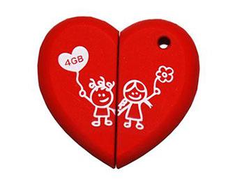 Soldes : des clés usb pour les amoureux à 4 euros et 7,99 euros