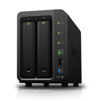 Soldes : 249,90€ le NAS 2 baies Synology DS214+