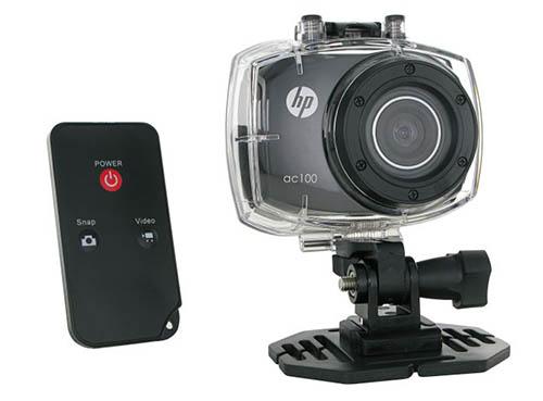 Soldes : la caméra sportive HP AC-100 est bradée à 39,99 euros