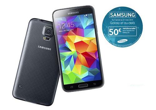 Bons Plans : le Samsung Galaxy S5 de 16 Go revient à 368 euros
