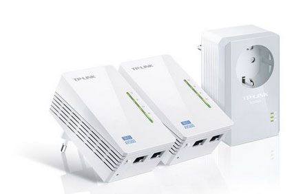 Soldes : 87,90€ pour un autre pack de 3 CPL TP-Link + fonctions WIFI + 2 Ethernet