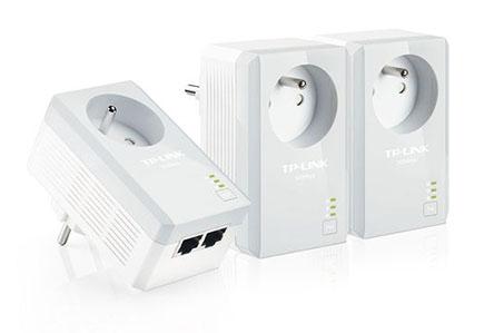 Bon Plan : 36,90€ le pack de 3 CPL TP-Link avec prise secteur et 2 ports Ethernet