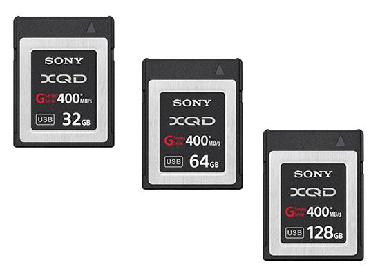 Sony dévoile les cartes mémoires G-Series à la norme XQD 2.0