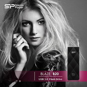 Silicon Power sort la Blaze B20, une nouvelle clé USB 3.0