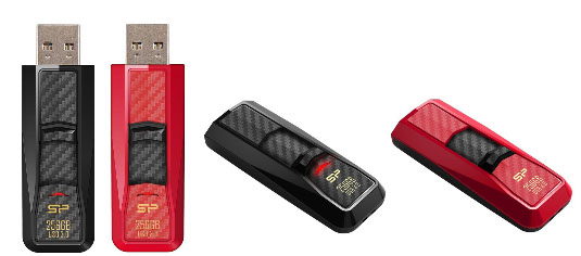 Une clé USB 3.0 de 256 Go qui carbure à 240 Mo/s chez Silicon Power