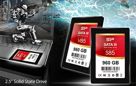Silicon Power présente un nouveau SSD : le Slim S85