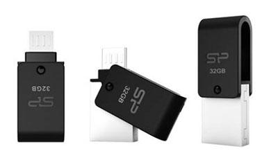 Une clé OTG polyvalente chez Silicon Power : micro usb, usb et lecteur de cartes micro SD (Maj)