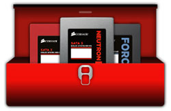 Corsair lance son logiciel SSD Toolbox pour gérer ses SSD