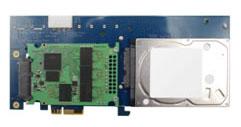Des solutions de stockage hybrides au format PCI Express