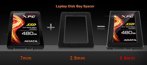 ADATA propose un nouveau SSD : le SX930 à base de controleur JMicron