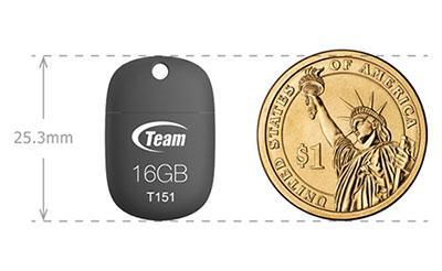 Team Group présente une clé usb compacte en caoutchouc : la T151
