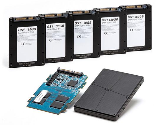 Des SSD à usage industriel chez TDK : les SDS1B