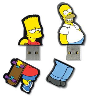 Integral propose des clés usb pour les fans des Simpsons